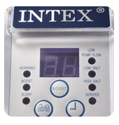 Дисплей Intex Saltwater System